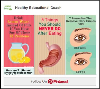 Healthy Educational Coach Pinterest
