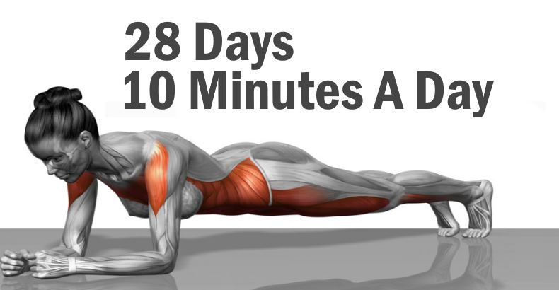 5 Simple Exercises to Transform Your Body in Just 4 Weeks