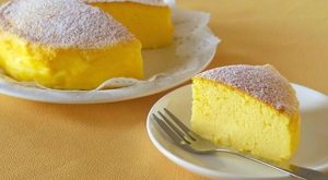 "The Whole World is Crazy For This ""Japanese Cheesecake"" With Only 3 Ingredients!"