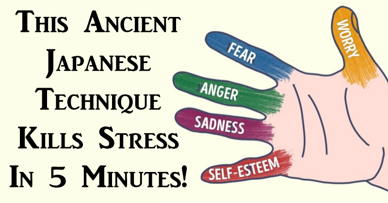 You are currently viewing This Ancient Japanese Technique Kills Stress In 5 Minutes!