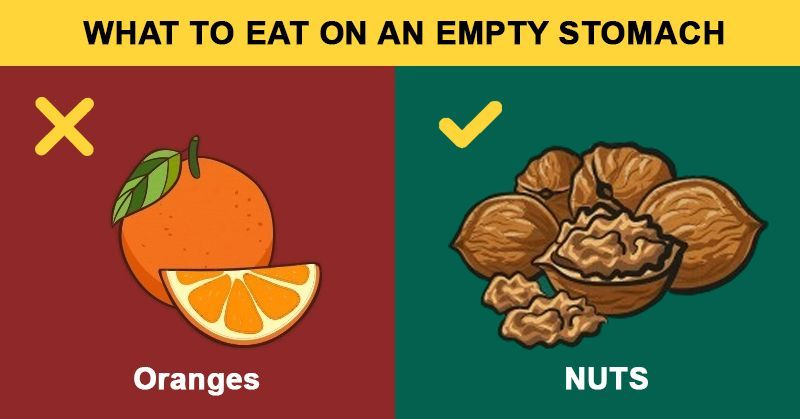 You are currently viewing 15 Foods To Do And Don't Eat On An Empty Stomach