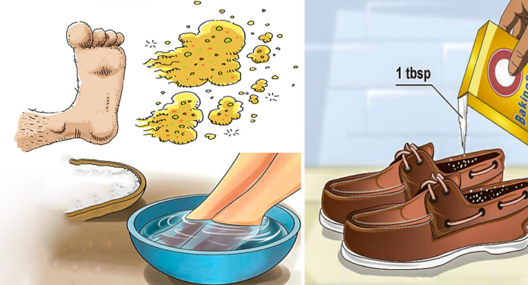 Baking Soda Foot Tips