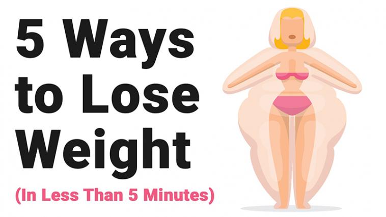 5 ways to lose weight