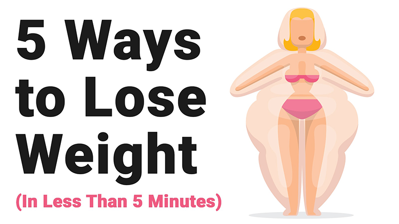 You are currently viewing 5 Ways to Lose Weight (in Less Than 5 Minutes)