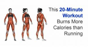Read more about the article 20-Minute Workout Burns More Calories than Running!