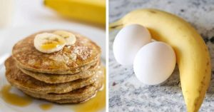 Eat This 2-Ingredient Pancake Every Morning And Watch Your Body Fat Disappear