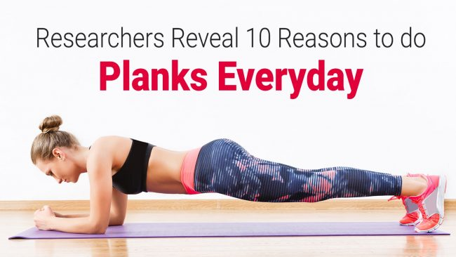 10 Reasons to do planks everyday