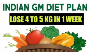 The GM Diet Plan Which will Help You Lose 5 Kg in Only 7 Days!