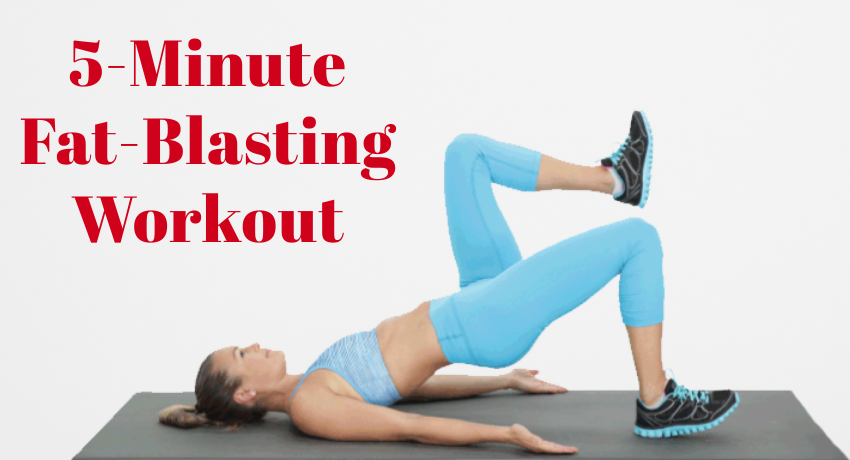 You are currently viewing 5-Minute Fat-Blasting Workout For Those Who Don't Have Much Free Time