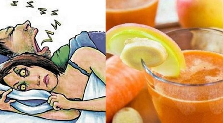 You are currently viewing Anti-Snoring Juice, The Drink Your Partner Should Drink To Avoid Snoring At Night