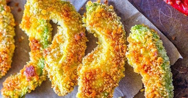 You are currently viewing Crispy And Creamy Avocado Fried In Coconut Oil, Complete With Their Heart Healthy Fatty Acids