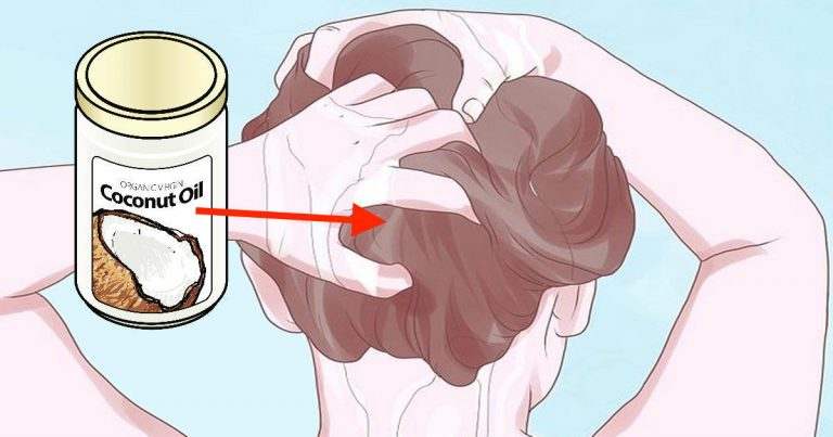 How To Put Coconut Oil In Your Hair To Stop It From Going Gray Early, Thinning Or Falling Out