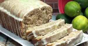 Coconut Lime Bread (Gluten & Dairy Free)