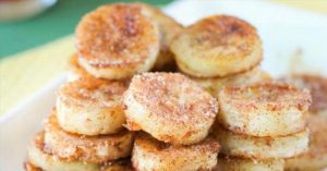 These Pan-Fried Cinnamon Bananas Couldn't Be Easier To Make