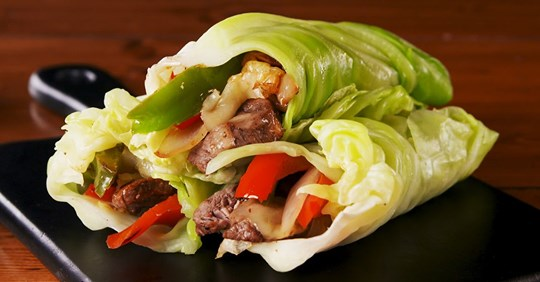 Philly Cheesesteak Cabbage Wraps: All the Good Stuff, None of the Carbs