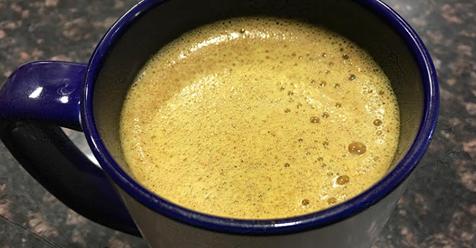 Turmeric Fat Burning Coffee Recipe