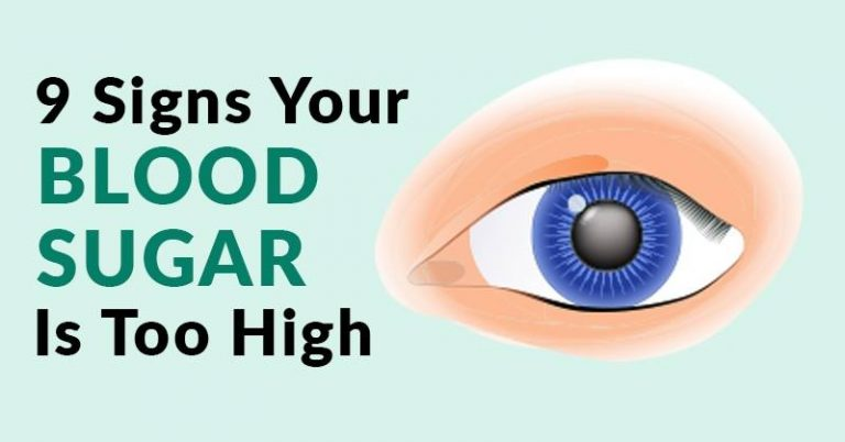 9 Signs of High Blood Sugar and What You Need to Start Doing Immediately
