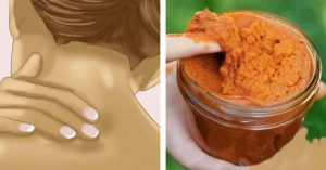 Homemade Muscle Rub Recipe With Turmeric, Coconut Oil And Cayenne Pepper For Quick Relief