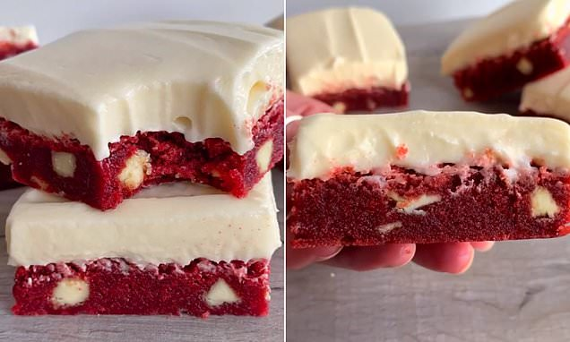 You are currently viewing Baking Queen Wows The Internet With Simple Recipe For Red Velvet Brownies